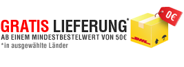 Versandkostenfreie Lieferung ab 50,- Euro Bestellwert